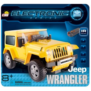 Jeep Wrangler Yellow RC