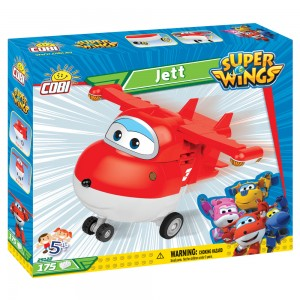 Super Wings Jett (175PCS)