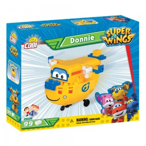 Super Wings Donnie (99PCS)